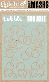 Celebr8 Mask - Bubble Trouble