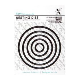Xcut Nesting Dies - Circle (5 Pieces)