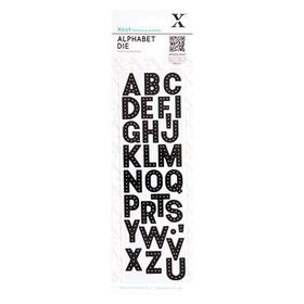 Xcut Alphabet Dies - Headliner