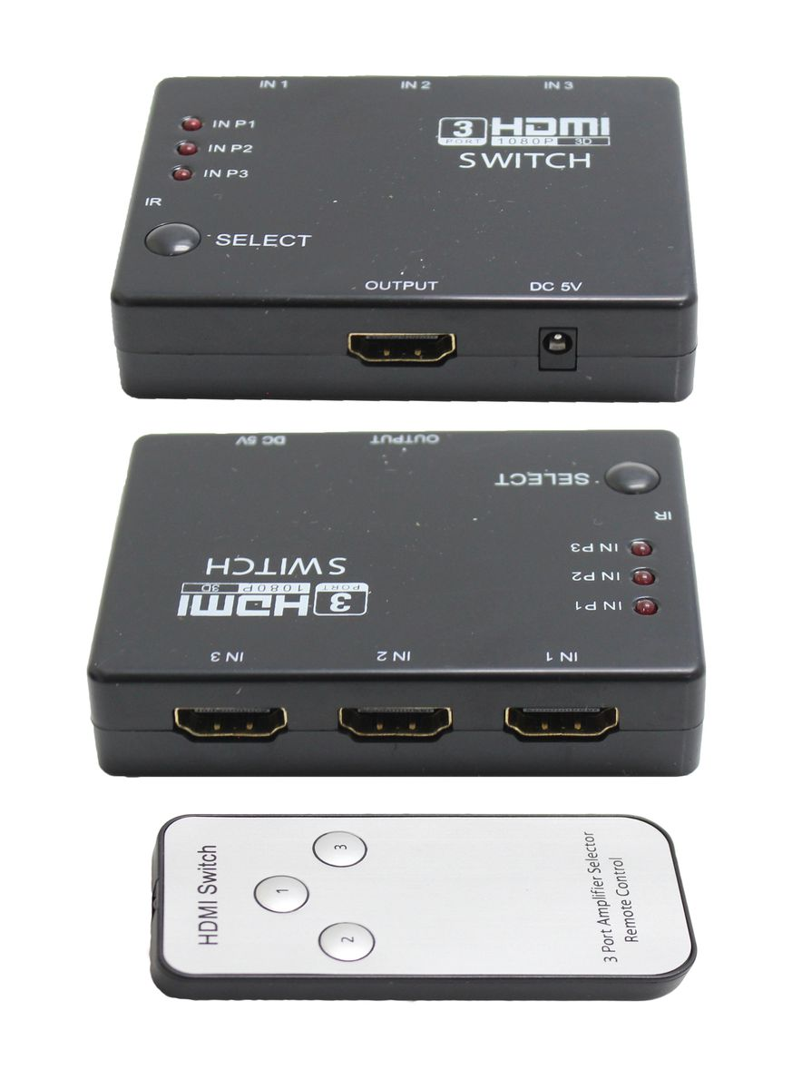 Ultra Link Hdmi 3 Way Switch Buy Online in South Africa takealotcom