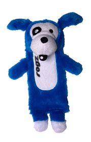 Rogz - Thinz Plush Large Dog Toy - Blue - 33cm