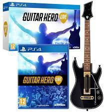 Guitar Hero Live (Software + Guitar) (PS4)