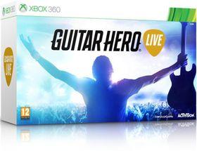 Guitar Hero Live (Software + Guitar) (Xbox 360)