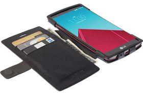 KRUSELL Malmo FlipWallet for LG G4 - Black