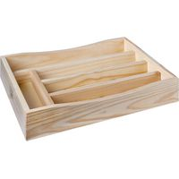 House of York Cutlery Tray - Pine