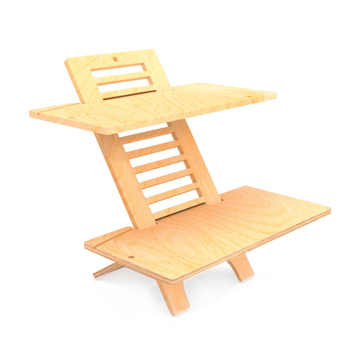 jumbo deskstand standing desk buy online in south africa. Black Bedroom Furniture Sets. Home Design Ideas