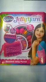 Shimmer and Sparkle jelly Yarn Party Purse
