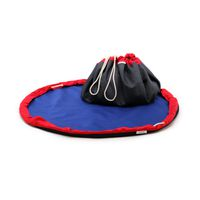 MobiMat- Mobile Playmat  &  Toy Storage Bag Red - (Size: Small)
