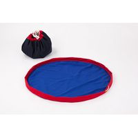 MobiMat- Mobile Playmat & Toy Storage Bag Red - (Size: Medium)