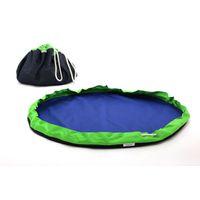 MobiMat- Mobile Playmat & Toy Storage Bag Green - (Size: Medium)