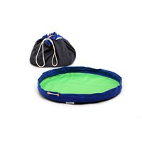 MobiMat- Mobile Playmat & Toy Storage Bag Blue - (Size: Large)