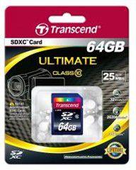 Transcend 64GB Class 10 SDHC Card