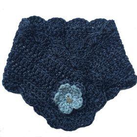 Buglets Crochet Buttonhole Scarf - Storm