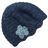 Buglets Crochet Beret - Storm