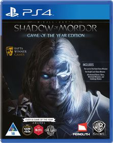 Shadow Of Mordor: Game of the Year (PS4)