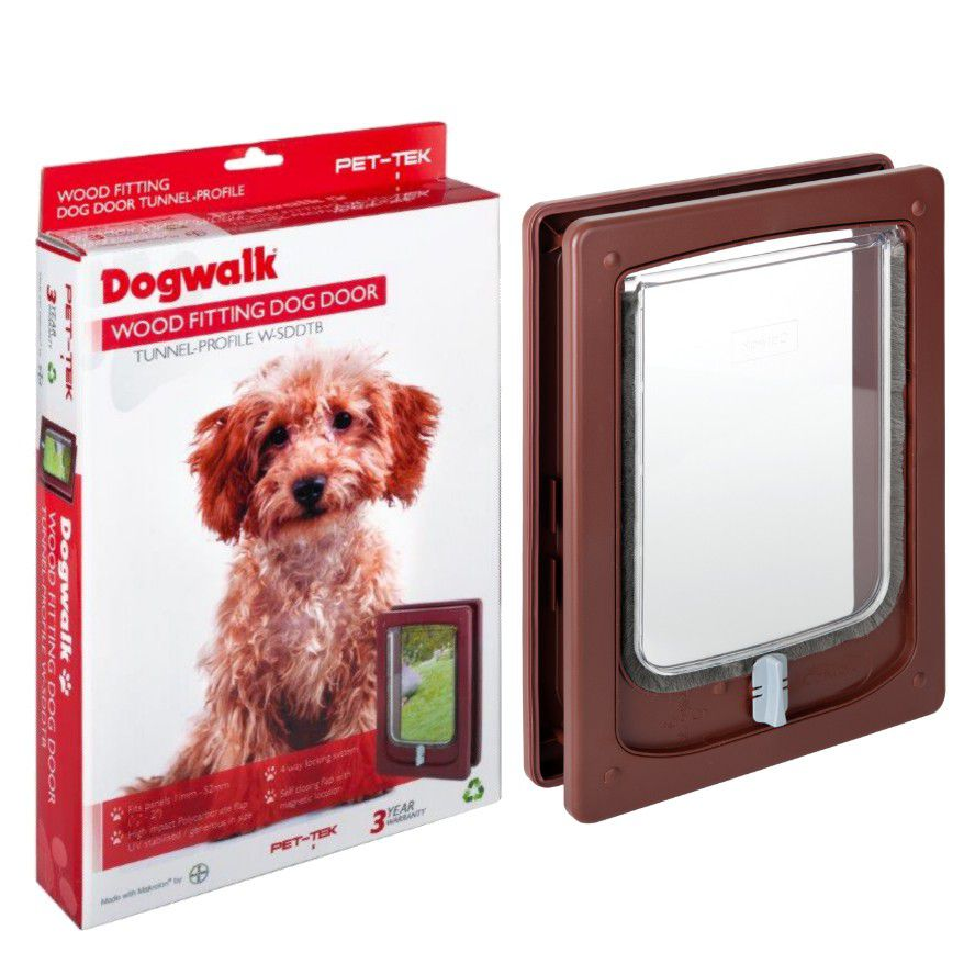 Dogwalk Wood Fitting Tunnel Small Dog Door Buy Online In South