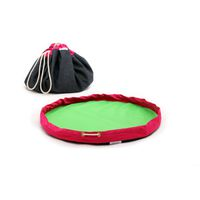 MobiMat Mobile Playmat and Toy Storage Bag - Pink (Size: Large)