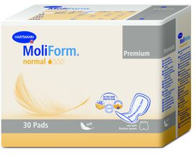 Moliform Anatomically Shaped Incontinence Pad Normal - 30