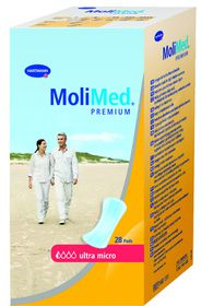 Molimed Premium Ultra Micro Anatomically Shaped Inco Pad With Adhesive Strip - 28