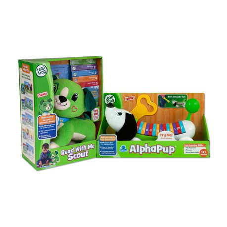 LeapFrog AlphaPup Toy, Green