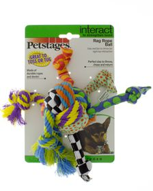 Petstages - Rag Rope Ball