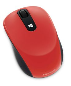 Microsoft Sculpt Mobile Mouse - Flame Red V2
