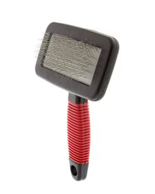 MCPets - Slicker Brush With Red Handle - Small