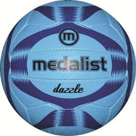 Medalist Dazzle Netball - Blue- Size 5
