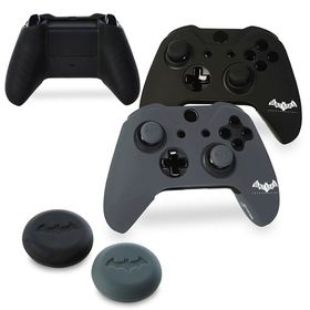 Batman Silicone Jackets and Thumb Grips (Xbox One)