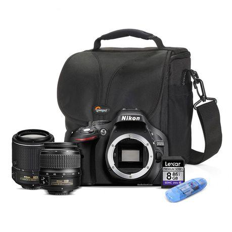 Nikon D5200 24MP Twin Lens Value Bundle