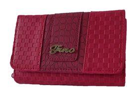 Fino Check & Croc Purse - Pink (1004093)
