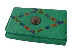 Fino Rainbow Striped Purse - Green (1027093)