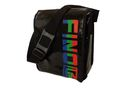 Fino Waterproof Funky Messenger Bag - Black (Sk Tpn02)