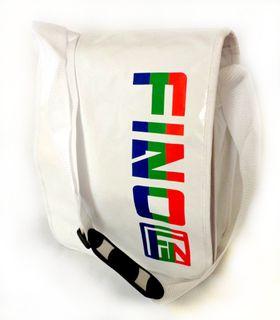 Fino Waterproof Funky Messenger Bag - White (Sk Tpn02)