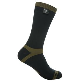 Dexshell Waterproof Trekking Sock (Size: UK12-14) - Black & Olive