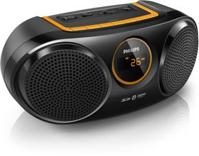 Philips AT10 Portable Speaker System With Buetooth