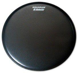 "Aquarian 14"" High Velocity Drumhead - Black"