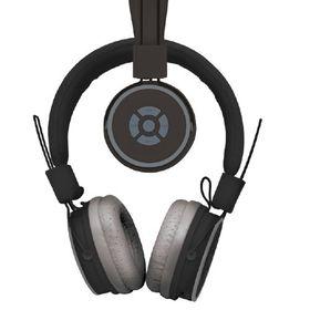 Polaroid Bluetooth Foldable Headphone with Mic - Black