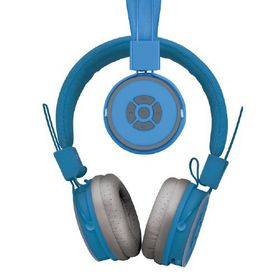 Polaroid Bluetooth Foldable Headphone with Mic - Blue