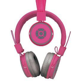 Polaroid Bluetooth Foldable Headphone with Mic - Pink