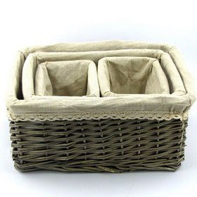 Pamper Hamper - 4 Piece Wicker Basket Set