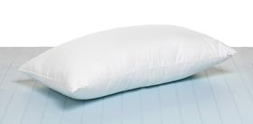 Fine Fibre - Premium Microfibre Pillow - Soft-Medium - White