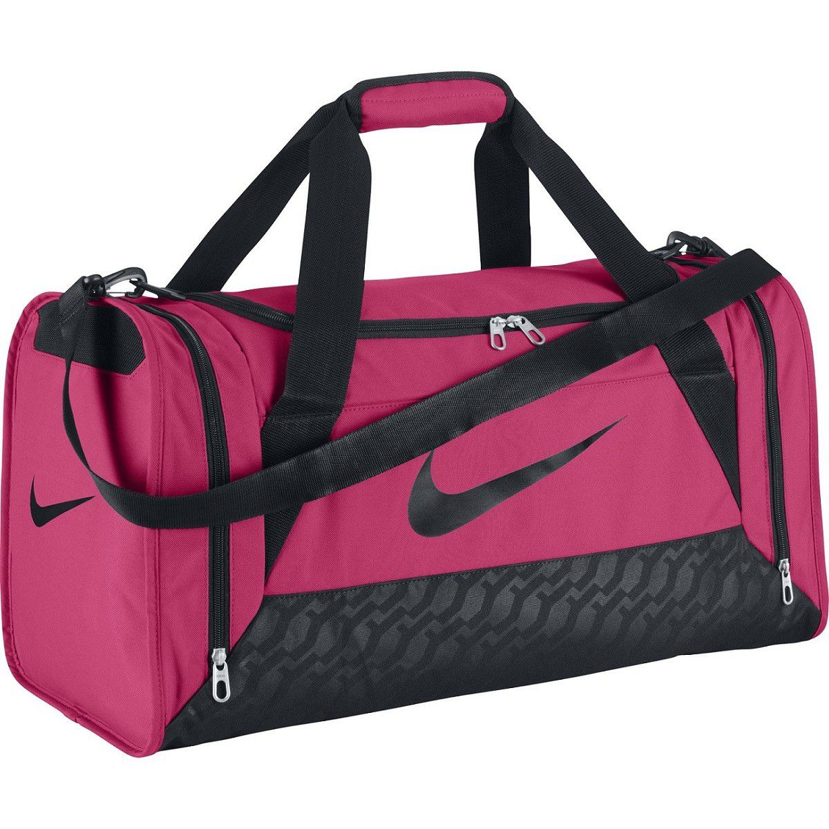 women 39 s nike brasilia 6 duffle bag small buy online in. Black Bedroom Furniture Sets. Home Design Ideas