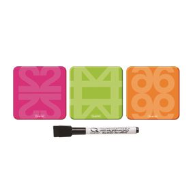 Quartet Drywipe Magnets - Pack of 3