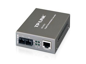 TP-Link Gigabit RJ45 To Single-Mode SC Fiber