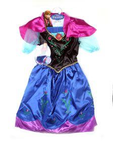 Disney Frozen Anna Dress - Blue | Buy Online in South ...