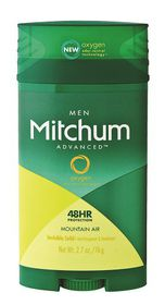 Mitchum Advanced Invisible Solid Men - Mountain Air - 76g