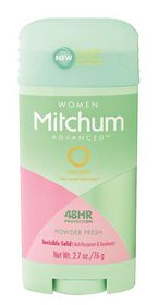 Mitchum Advanced Invisible Solid Women - Powder Fresh - 76g