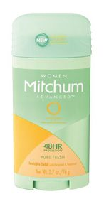 Mitchum Advanced Invisible Solid Women - Pure Fresh - 76g