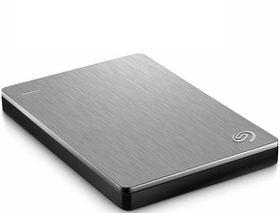 """Seagate 2.5"""" Backup Plus Portable Drive - 2TB Silver"""